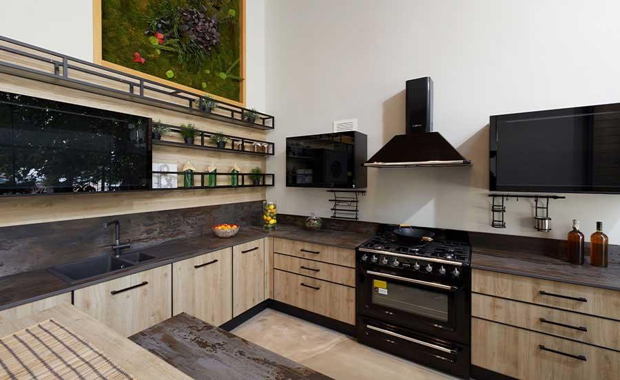 Schwarz Black Kitchen Design Moooi Home